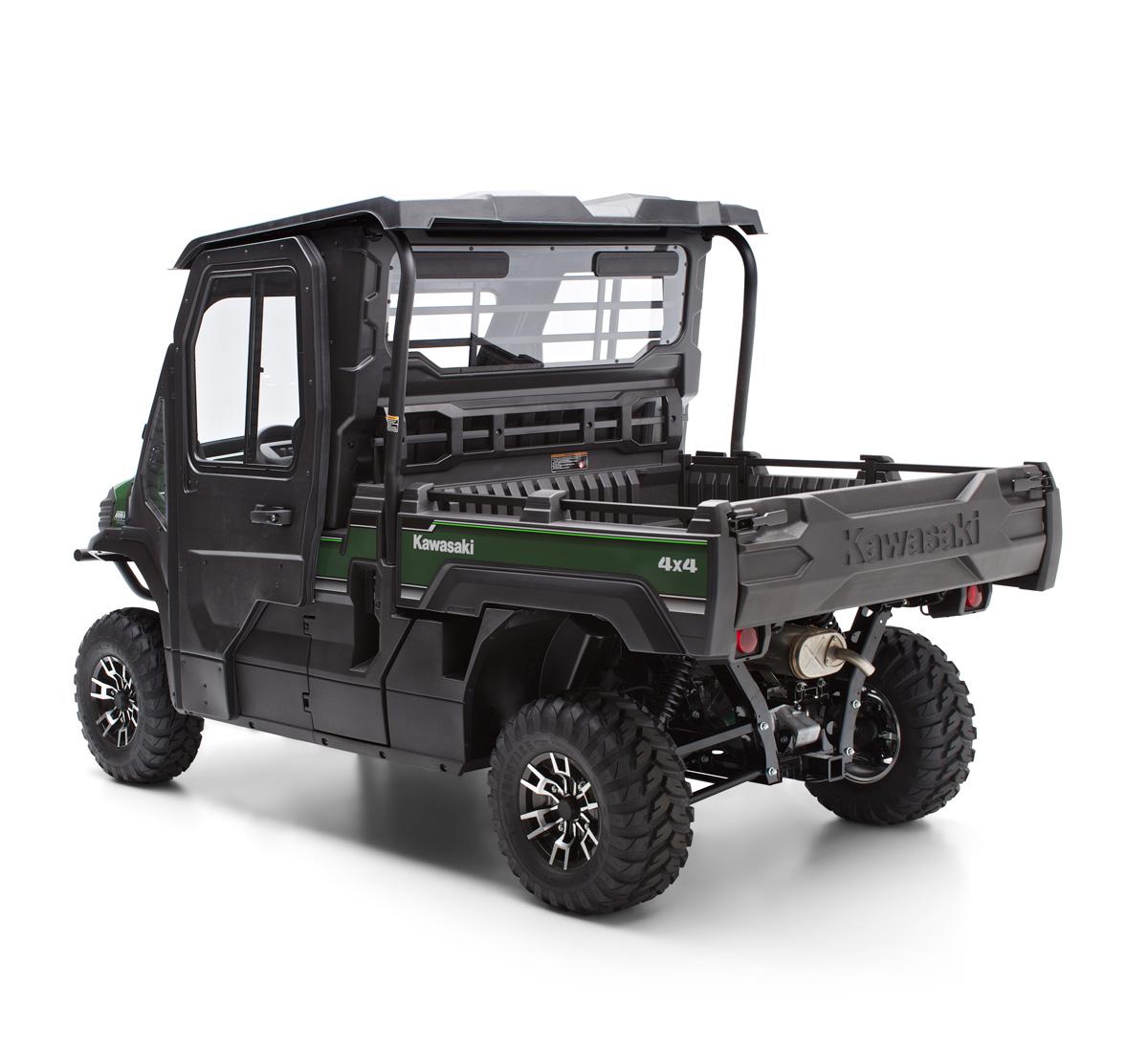 2016 Mule Pro Fx Hard Cab Enclosure Rear Panel