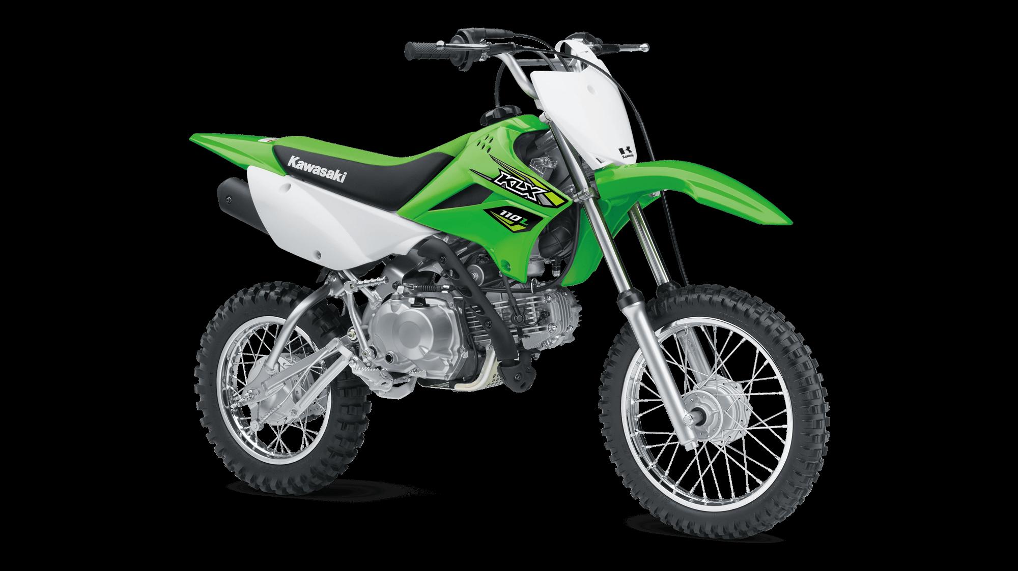2018 KLX®110L Off-Road Motorcycle by Kawasaki