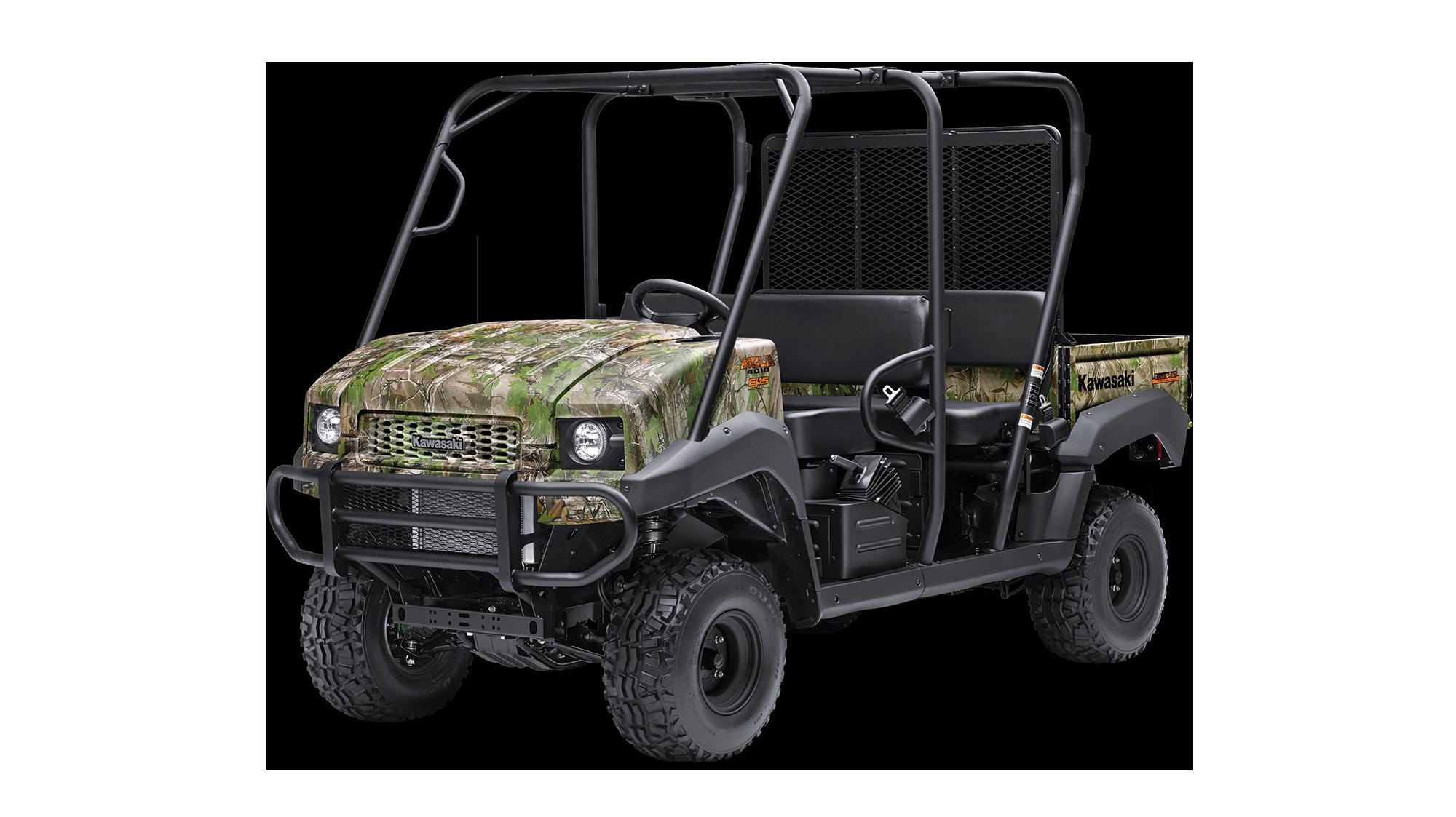 2020 MULE™ 4010 TRANS4x4® CAMO Mule™ Side X Side by Kawasaki
