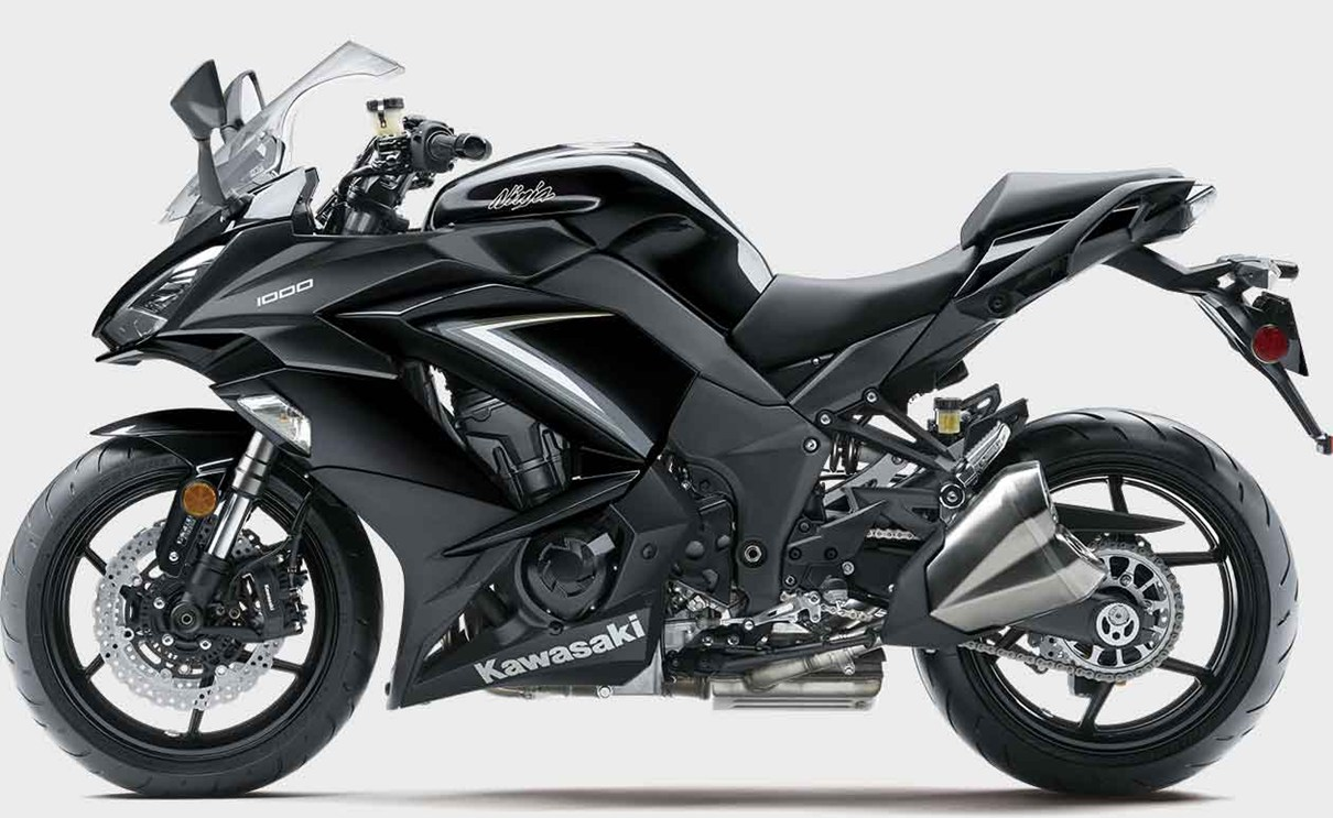 Kawasaki Ninja 1000 Abs Touring Motorcycle Powerful Capable