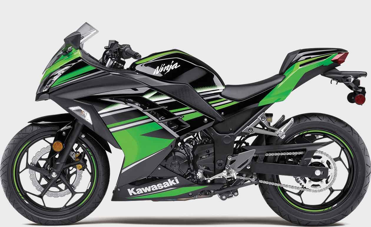 kawasaki ninja 300 sport motorcycle easy handling performance Kawasaki Ninja 350 ninja� 300