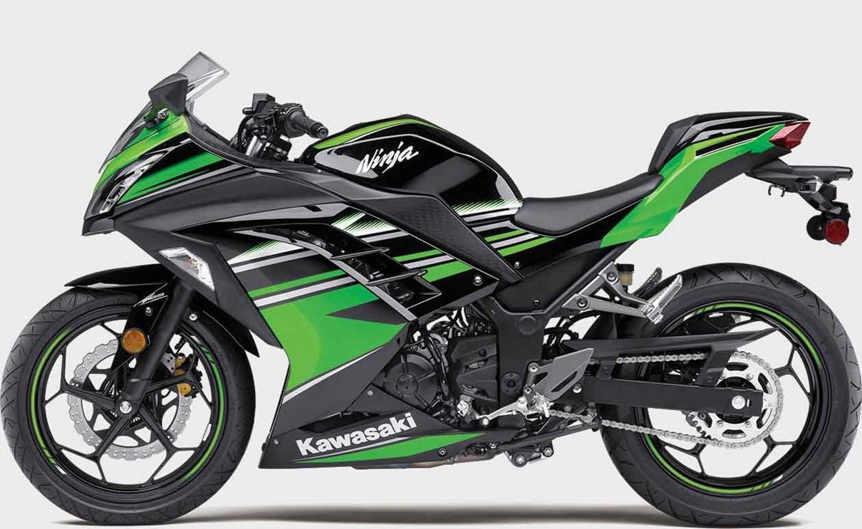 Kawasaki Ninja 300 Sport Motorcycle Easy Handling Performance