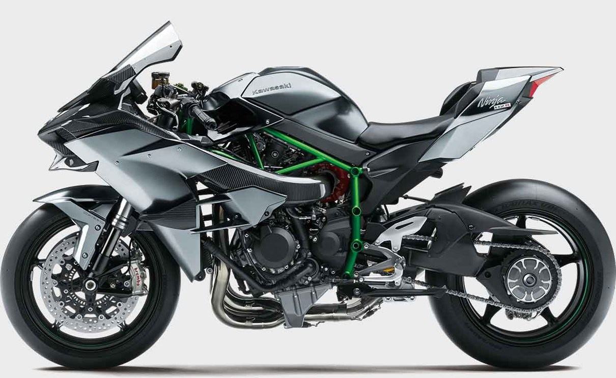 Kawasaki Ninja H2r Most Powerful Closed Course Hypersport Motorcycle