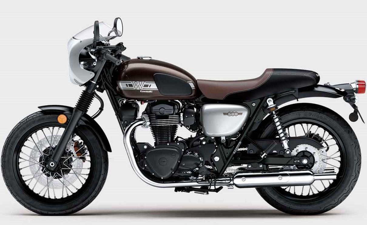Kawasaki W800 Cafe Retro Modern Original Icon
