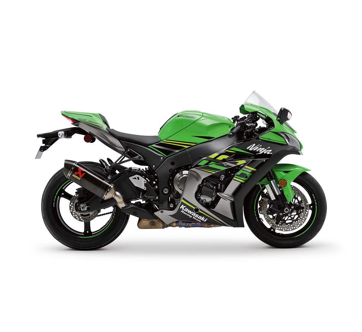 Motorcycle Ninja Zx 10r Akrapovic Slip On Exhaust