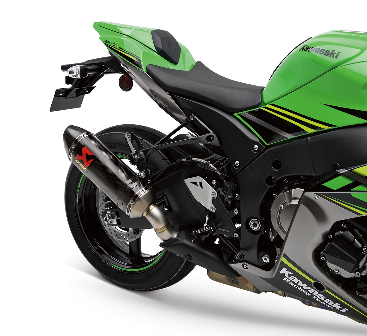 Motorcycle Ninja® ZX™-10R Akrapovic Slip-On Exhaust
