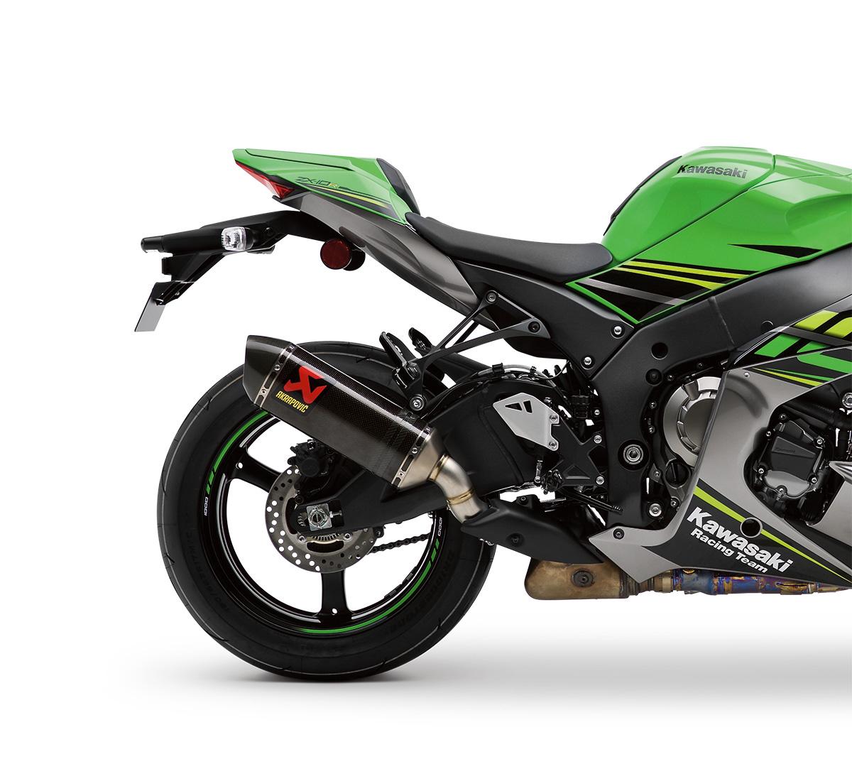 Motorcycle Ninja® ZX™-10R Akrapovic Slip-On Exhaust