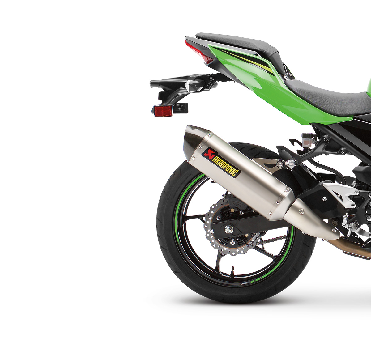 Motorcycle Ninja® 400 / Z400 Akrapovic Slip-On Exhaust