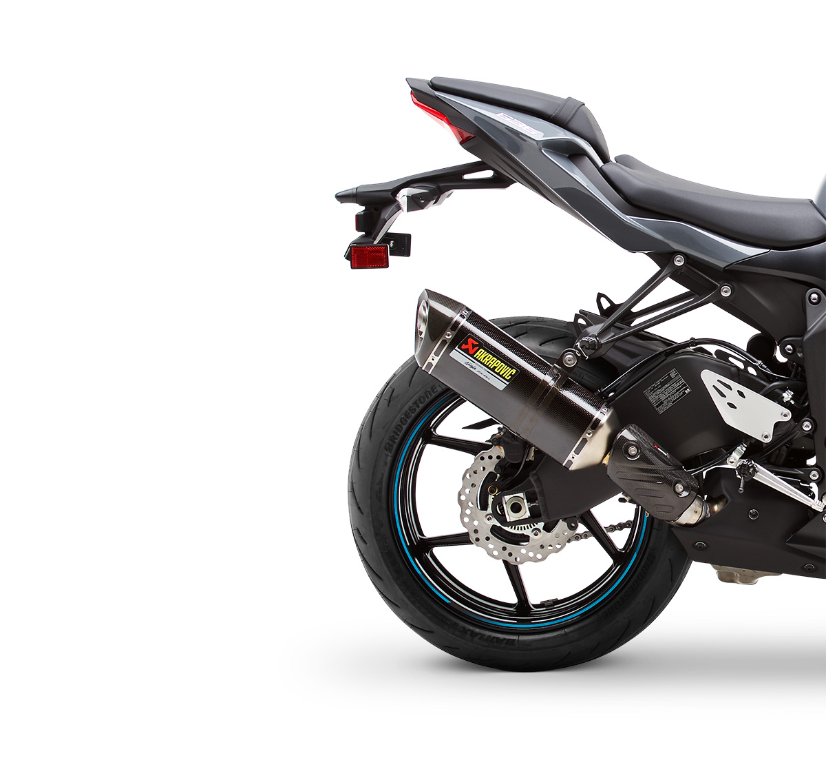 Motorcycle Ninja Zx 6r Akrapovic Slip On Exhaust