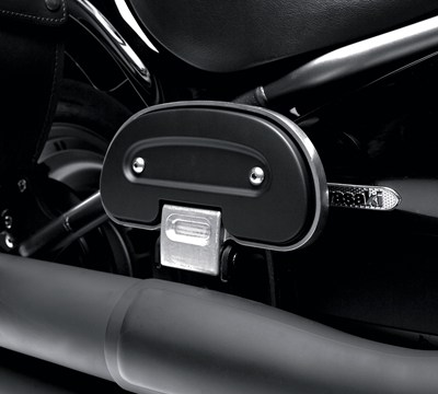 Vulcan® 1700 Voyager® ABS Passenger Floorboard, Black Cover Plate