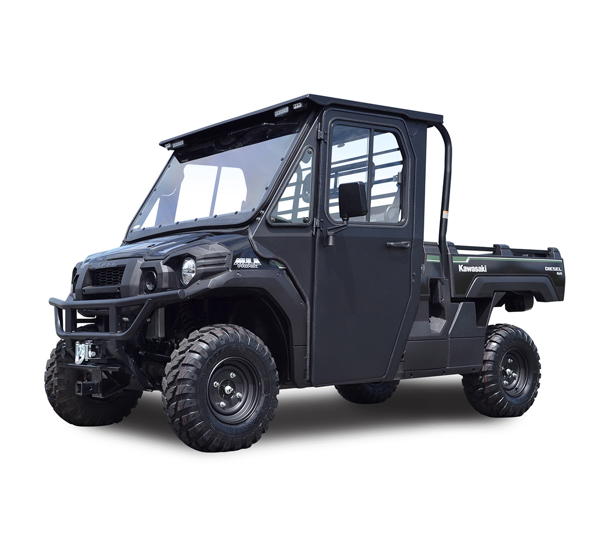 Side X Side Hard Cab Enclosure with Polycarbonate Windshield