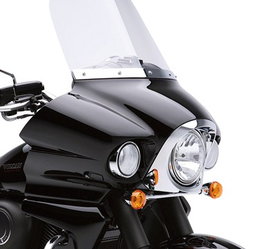 "Vulcan® 1700 Voyager® ABS 18"" WINDSHIELD"