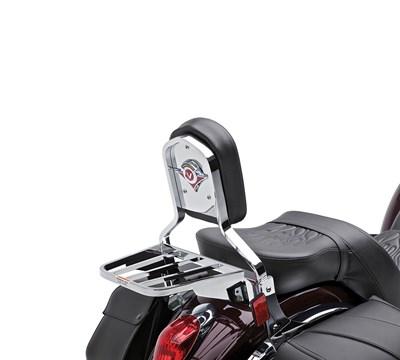 Vulcan® 900 Classic Passenger Backrest, Emblem