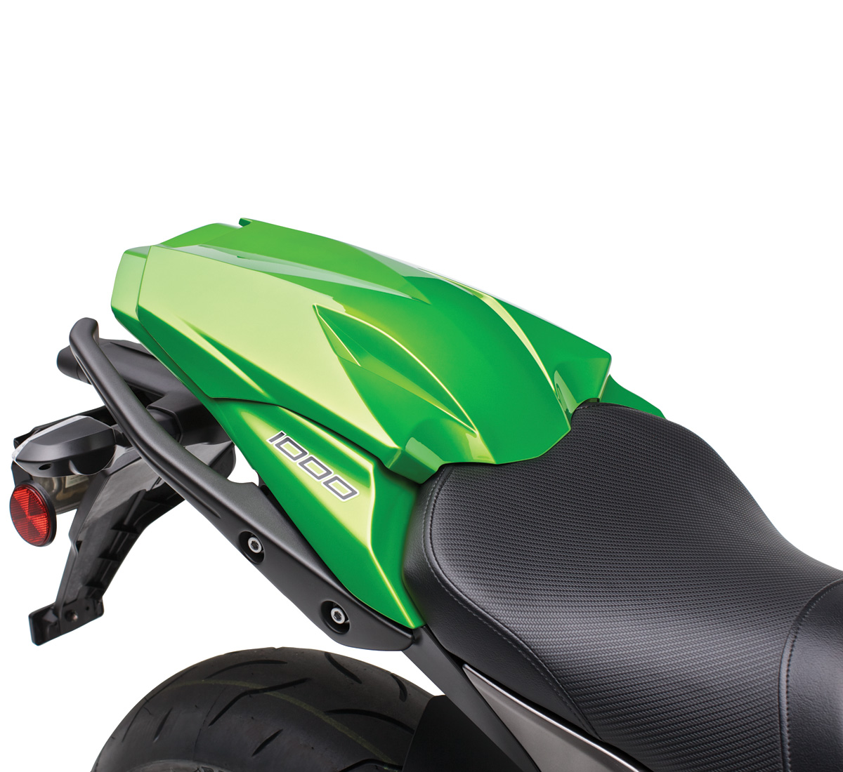 Motorcycle Seat Cowl Candy Lime Green17p
