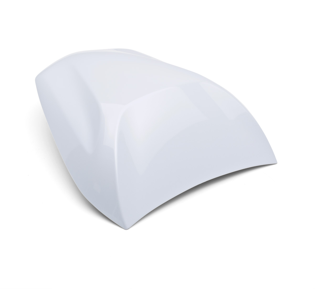 motorcycle seat cowl  pearl stardust white  25y