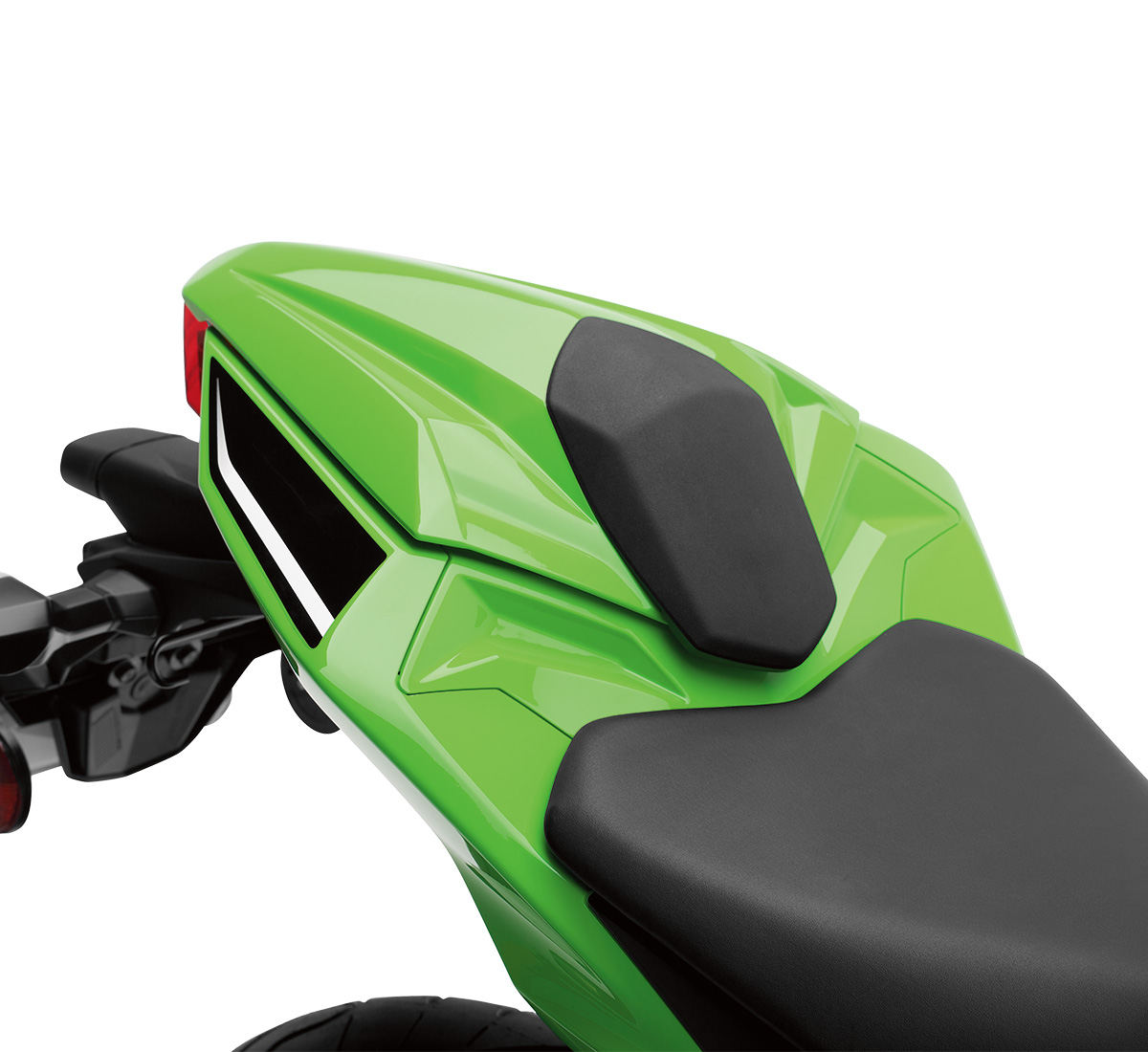 Motorcycle Seat Cowl Lime Green777