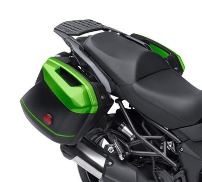 VERSYS® 650 LT KQR™ 28 Liter Hard Saddlebag Set, Trim Set, Candy Lime Green/51PA