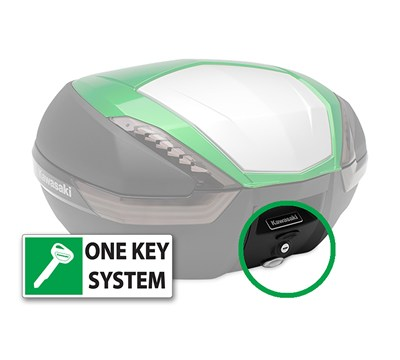 Concours® 14 ABS KQR™ 47 Liter Top Case, One Key System, Type A