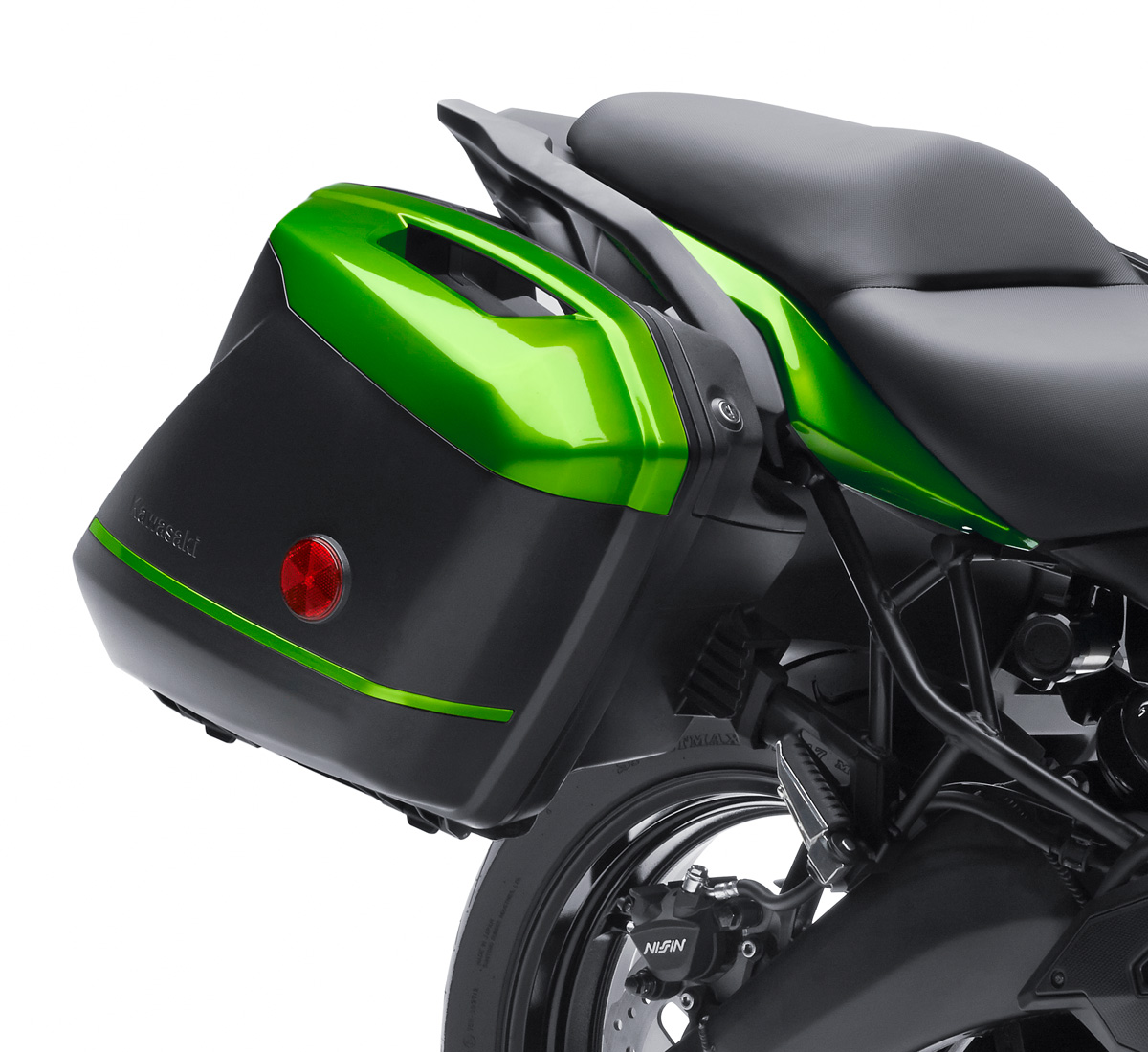 2015 versys® 650 lt kqr™ 28 liter hard saddlebag set