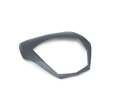 Concours® 14 ABS KQR™ 47 Liter Top Case Trim, Metallic Carbon Grey