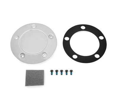 Vulcan® S ABS Clutch Cover Plate, Chrome