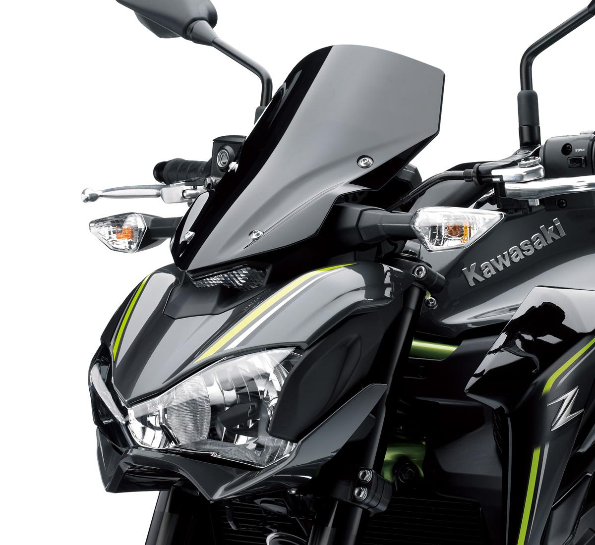 Motorcycle Smoked Wind Deflector