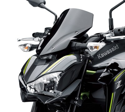 Z™900 ABS Smoked Wind Deflector