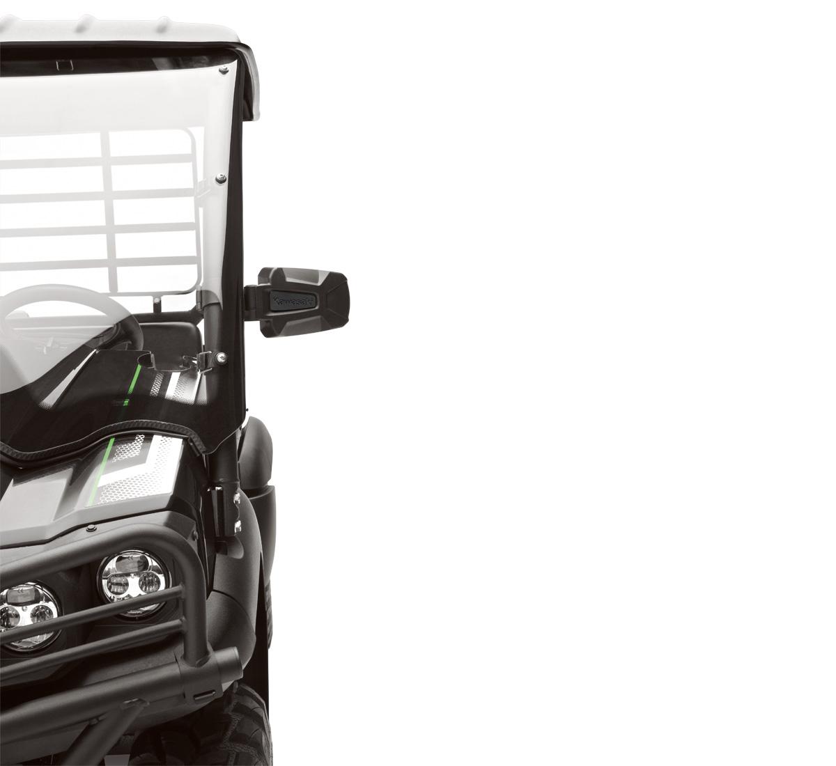 2018 Mule Pro Fxr Accessories Kawasaki 4010 Electrical Wiring Harness Side Mirror Set Premium