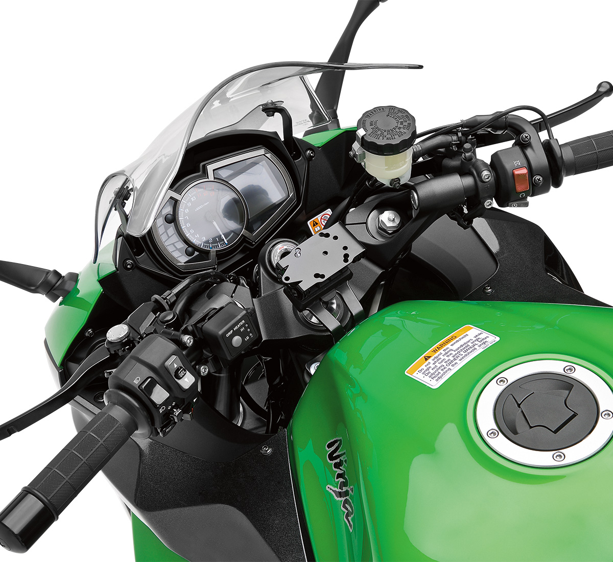 Motorcycle Dc Power Outlet Kawasaki Ninja 650r Wiring Harness Gps Mount