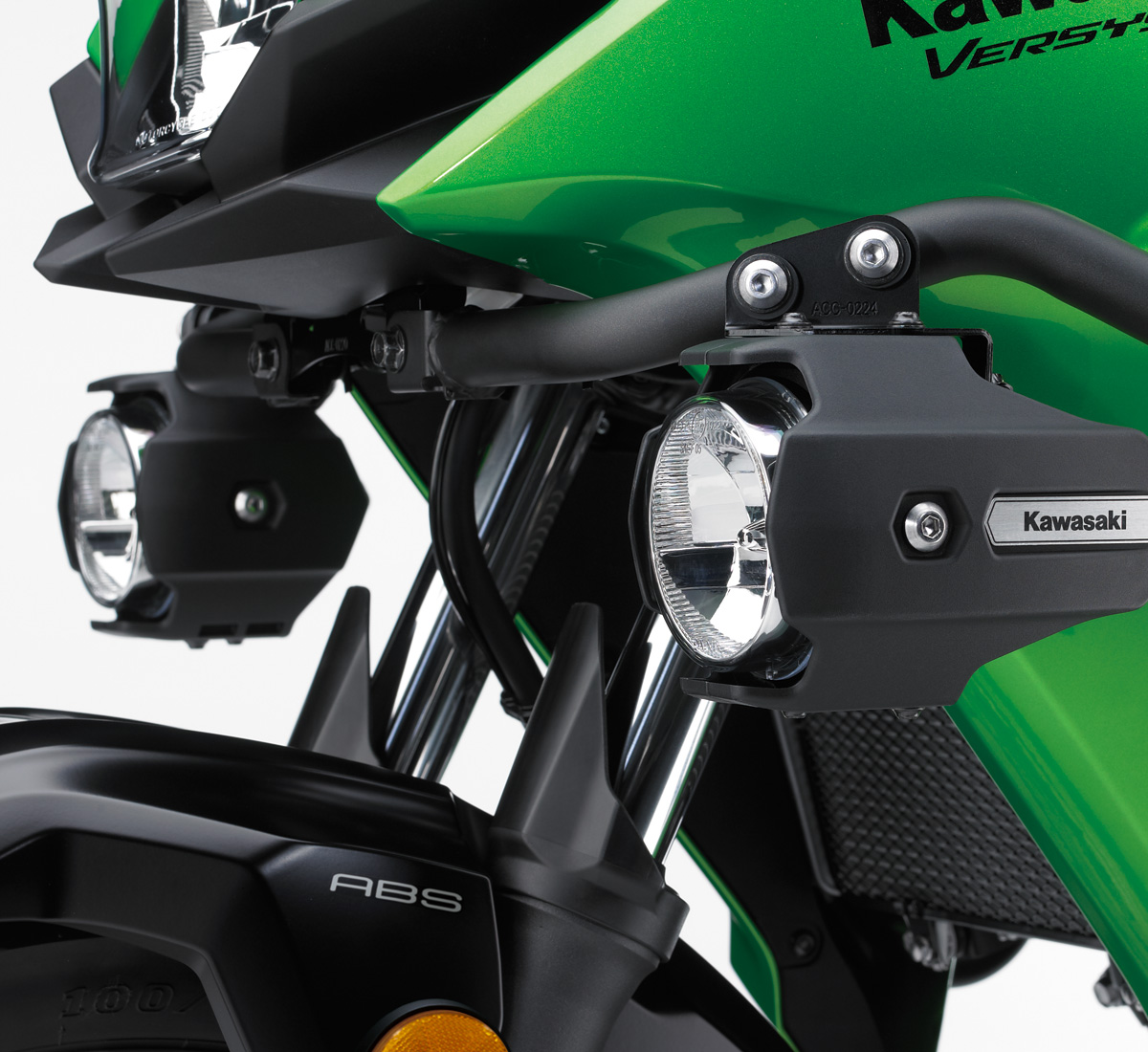 2019 Versys X 300 Abs Motorcycle By Kawasaki Prairie 650 Wiring Diagram Led Auxiliary Light Set