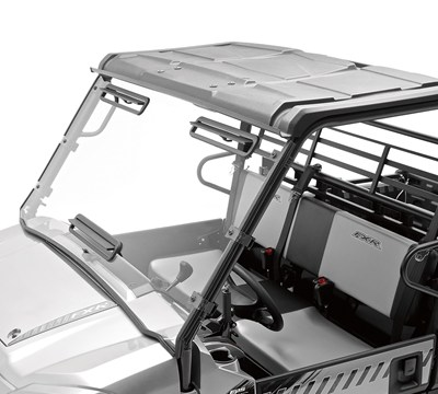 MULE PRO-FXR™ KQR™ Full Polycarbonate Windshield