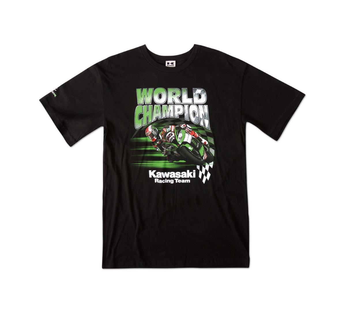 kawasaki world superbike t shirt. Black Bedroom Furniture Sets. Home Design Ideas