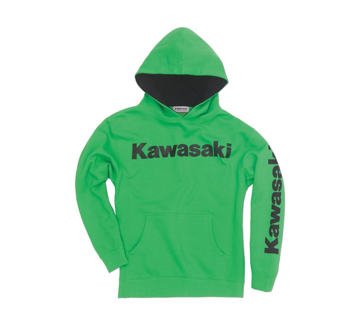 youth logo hooded sweatshirt