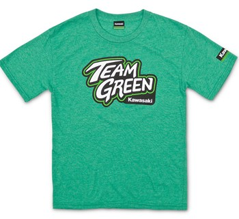 Youth Team Green T-Shirt model