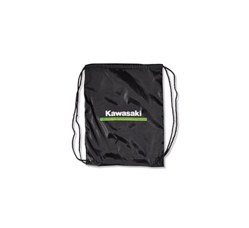 Kawasaki 3 Green Lines Clinch Drawstring Bag model