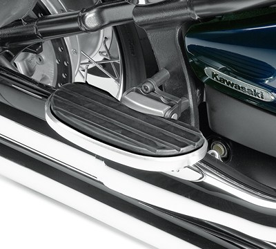 Vulcan® 900 Custom Passenger Floorboard Set, Chrome