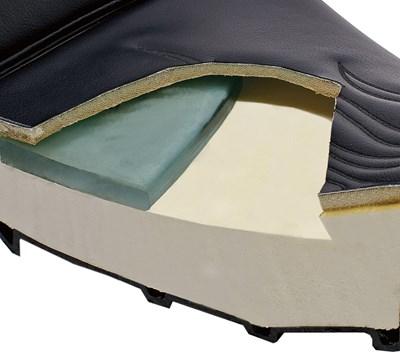Vulcan® 900 Classic LT Gel Seat, Plain