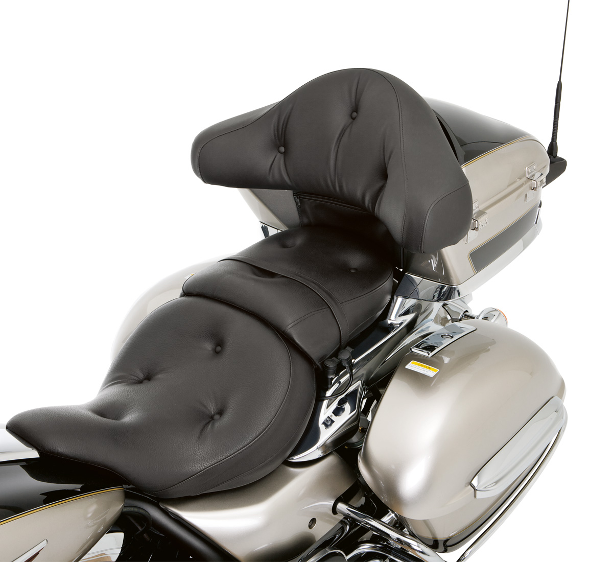 2016 vulcan® 1700 voyager® abs pillow top gel seat, rear