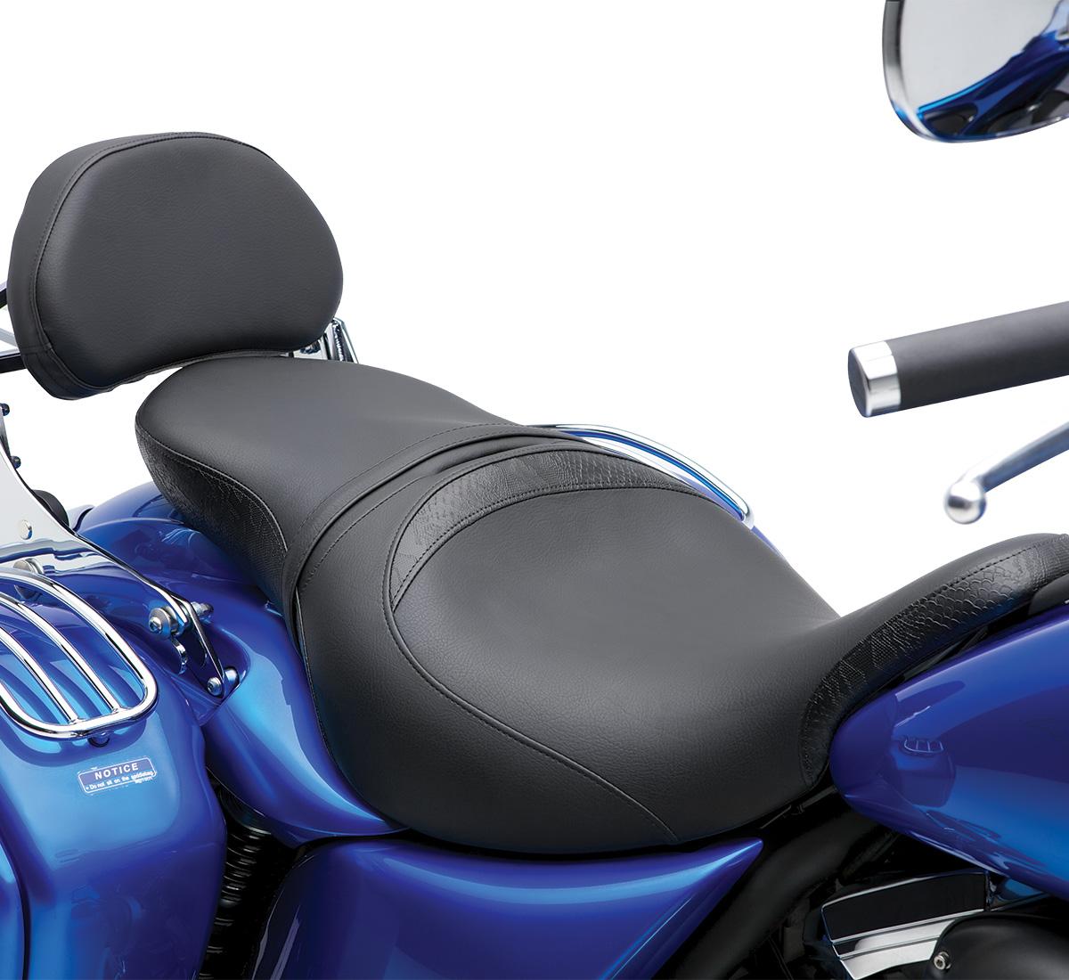 2014 vulcan® 1700 vaquero® abs gel seat, touring