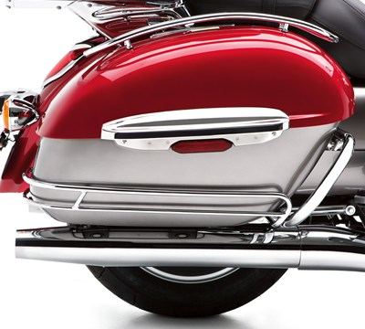 Vulcan® 1700 Voyager® ABS Saddlebag Side Trim Set, Chrome