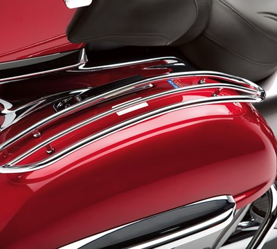 Vulcan® 1700 Voyager® ABS Saddlebag Top Trim Set, Chrome