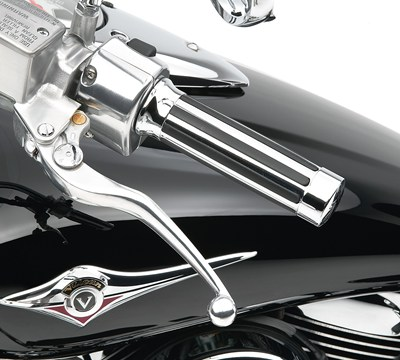 Vulcan® 1700 Voyager® ABS Handlebar Grip Set, Chrome