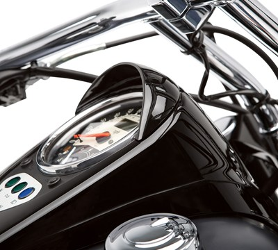Vulcan® 900 Custom Speedometer Visor, Black
