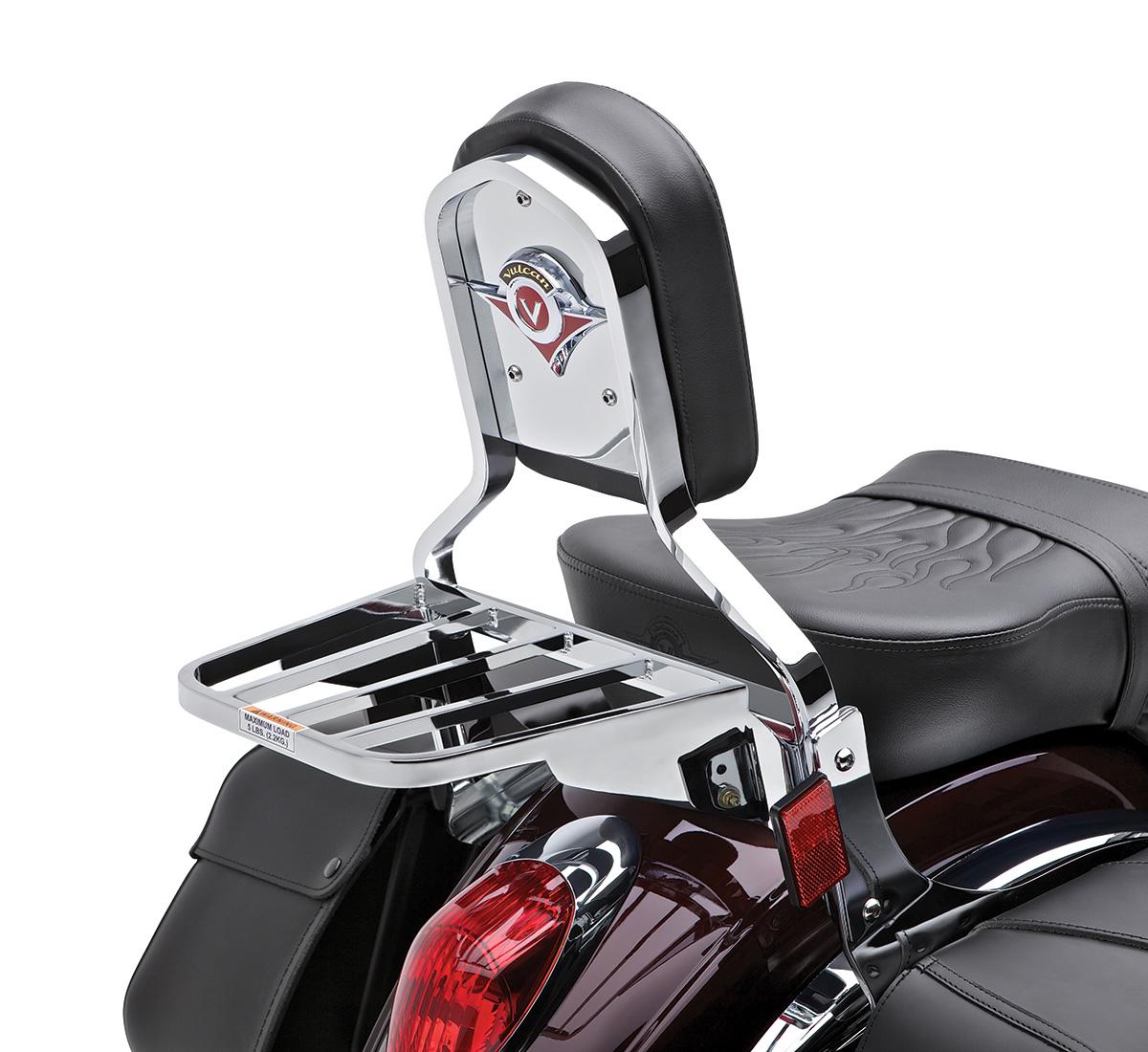 Motorcycle Luggage Rack Chrome
