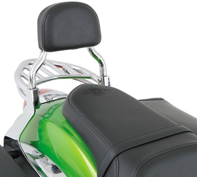 Vulcan® 900 Custom Passenger Backrest, Chrome