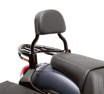 Vulcan® 900 Custom Passenger Backrest, Black