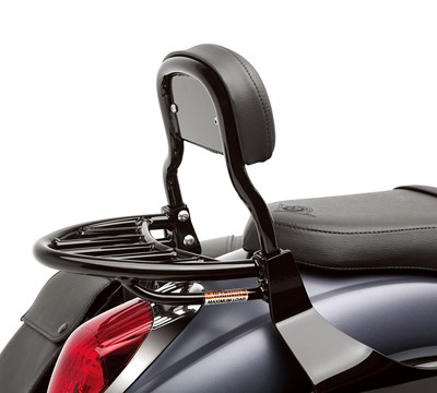 Vulcan® 900 Custom Luggage Rack, Black