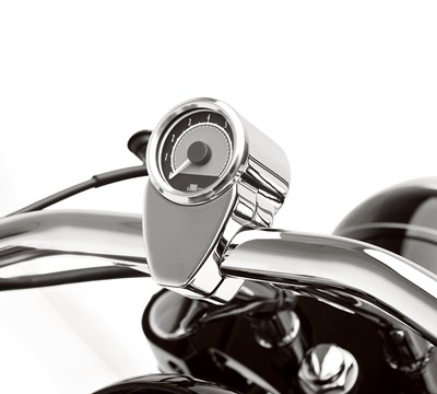 Vulcan® 900 Custom Mini Tachometer, Chrome