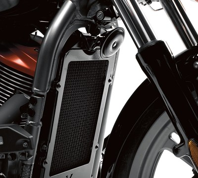 Vulcan® 900 Custom Radiator Cover, Black