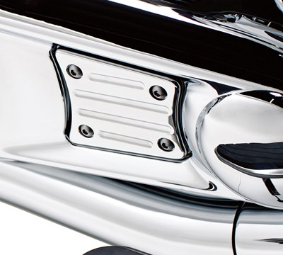 Vulcan® 1700 Voyager® ABS Engine Cover Trim, Chrome